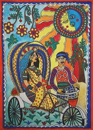 Image result for easy madhubani paintings for beginners