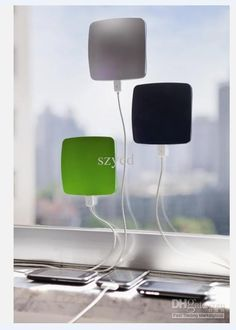 Wholesale 1500mAH Window Solar Charger Sticky Portable Power bank rechargeable battery chargers xdmodo iphone, Free shipping, $17.08-27.93/Piece   DHgate