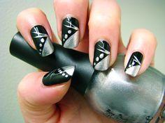 Silver Nail Art Designs Ideas :http://naildesignart2015.com/2015/07/31/silver-nail-art-designs-ideas/