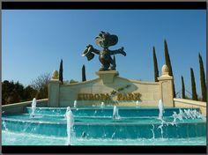 Europa-Park Entrance fountain