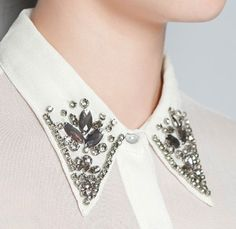 My New Obsession: Embellished Collars