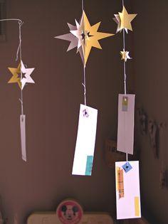 風鈴 七夕 Star Festival, Tanabata, Child Day, Handmade Ornaments, Chinese New Year, Clematis, Life Is Beautiful, Washi, Handicraft