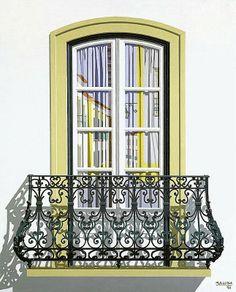 MALUDA - Pintura - Artodyssey - Portuguese Windows - Lisbon Windows Maluda…