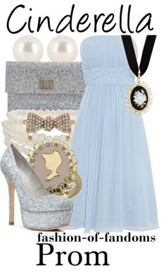 Outfit inspired by Cinderella!