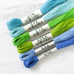 Cosmo Embroidery Floss Collection - Splash