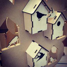 bird boxes by Alice Ellis-Hayle