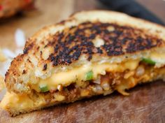 Frito Pie Grilled Cheese