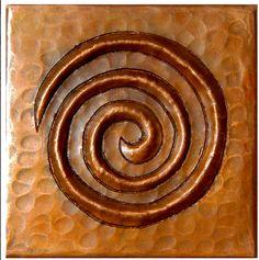 Fine Design of copper tiles Libertad Copper Accessories