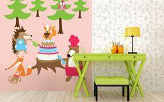 kolekce Party in the woods - designové tapety DecorPlay