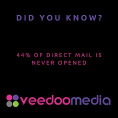 Did You Know? 🤔💬💡 . 44% of direct mail is never opened . 🥇🏆 Digital Marketing Agency Helping Small Businesses Grow Online, Innovate & Transform . 🎯 Digital Marketing 🧩 Consultancy 🛒 eCommerce 🖥 Web Design . 📈 Work With Us to Grow Your Business Online and Get Ahead of Your Competitors . 🔗 www.veedoomedia.com . Follow Us 👉 @veedoomedia 👈 to Get More Valuable Insights into Digital Marketing . . . . . #sem #digitalmarketing #onlinemarketing #internetmarketing #business #ecommerce… Internet Marketing, Online Marketing, Digital Marketing, Ecommerce Web Design, Direct Mail, Growing Your Business, Small Businesses, Did You Know, Online Business