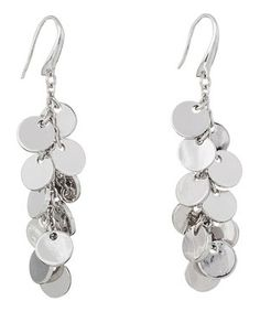 Loving this Annaleece Silver Shimmer Earrings