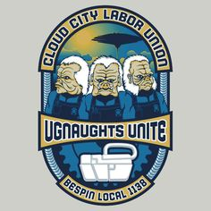 """Ugnaughts Unite"" T-Shirts & Hoodies by Grady 