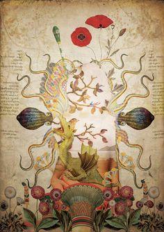 Laprisamata   Surreal Botanical Universe inspiration
