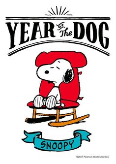 Snoopy & #2018 Year of the Dog. #kendall35 #yearofkendall