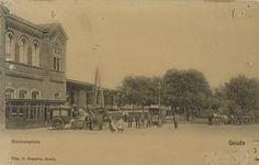 Stationsplein Gouda - Geheugen van Nederland