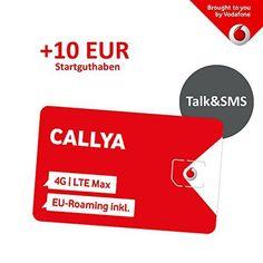 Neuer Artikel Vodafone Freikarte (Callya Talk+SMS) + 10 Euro Startguthaben #vodafone #freikarte #callya #startguthaben