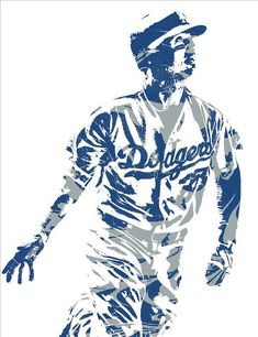 47c138de19c Cody Bellinger Los Angeles Dodgers Pixel Art 20 Art Print by Joe Hamilton.  All prints are professionally printed, packaged, and shipped within 3 - 4  ...