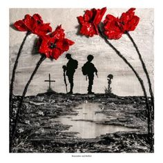 Remember And Reflect War Poppy Collection Jacqueline Hurley, 2015 Centenary of World War One WWI Soldier Lest We Forget Painting Art Remembrance Remembrance Tattoos, Poppy Painting, Remembrance Day Art, Ww1 Art, Art, First Art, War Tattoo, Poppies Tattoo, War Art