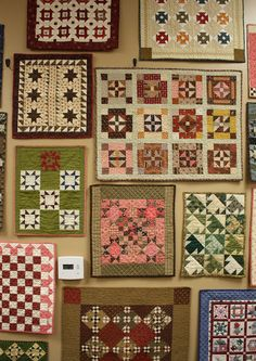 Temecula Quilt Company - lots of little quilts in this post