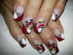 Manicure Nail Designs, Nail Manicure, Nails, Alaia, Style, Nail Stickers, Make Art, Nail Design, Art Nails