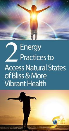 Discover 2 Energy Practices for Accessing Natural States of Bliss & More Vibrant Health - Through a series of simple steps, you can change your energy field, connect with your own natural bliss, and access higher states of consciousness. Higher State Of Consciousness, Mind Body Spirit, Qigong, Health And Wellbeing, Mental Health, Health And Safety, Yoga Meditation, Bliss, Connect