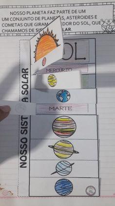 Science For Kids, Art For Kids, Solar System Worksheets, Social Projects, Kindergarten Class, Teaching Social Studies, Class Activities, Preschool Worksheets, Interactive Notebooks