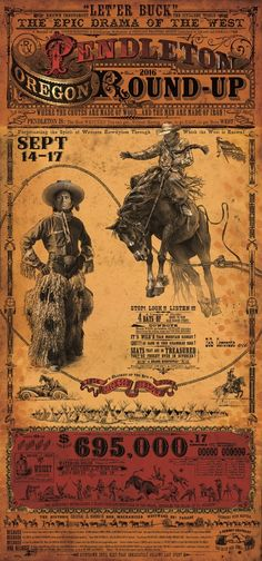 Pendleton Oregon Round Up Rodeo Poster! I LOVE THIS BUCKING HORSE!! The posters are the actual poster for the event. Bob Coronato prints for sale. Paintings, Etchings, Indian Artifacts, Western Americana