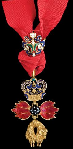 Order of the Golden Fleece (Austrian) - Badge (reverse)