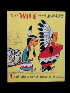 Thank you cards native click send pinterest happy anniversary native american indians native americans vintage greeting cards postcards happy brithday vintage cards happy aniversary m4hsunfo