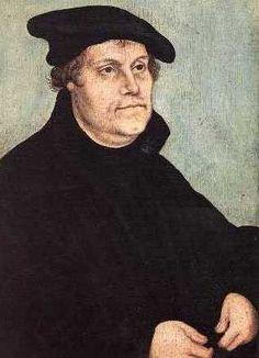 Martin Lutero, se proclamo en contra de la corrupcion de la Iglesia Catolica, sentando las bases del Protestantismo.