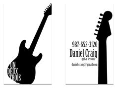 love the guitar business card!