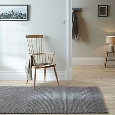 Buy John Lewis Croft Collection Braid Rug, x from our Rugs range at John Lewis. Blue Striped Curtains, Best Cabinet Paint, Stair Decor, Interior Stairs, Braided Rugs, New House Plans, Lounge Furniture, Chairs For Sale, Soft Furnishings