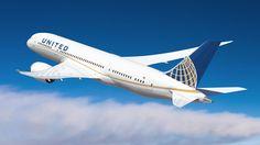 United Airlines - Boeing 787 Dreamliner Vetor