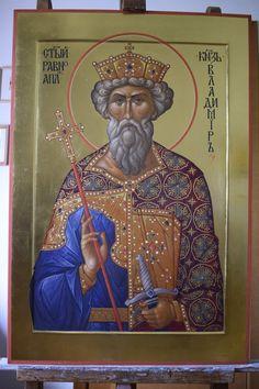 Saints, Byzantine Icons, Orthodox Icons, Creations, Painting, Fresco, Painting Art, Paintings, Painted Canvas