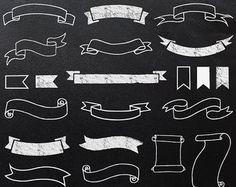 Schoolbord bloeit: digitale clipart SCHOOLBORD BLOEIT door Grepic