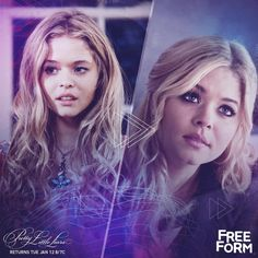 Alison DiLaurentis Flashback + Flash forward. Don't miss the PLL winter premiere Tuesday, January 12 at 8pm|7c on Freeform, the new name for ABC Family.