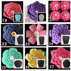 "17 Me gusta, 1 comentarios - paper flower Almadinah (@paper_flowers123) en Instagram: ""أشكال الورد"""