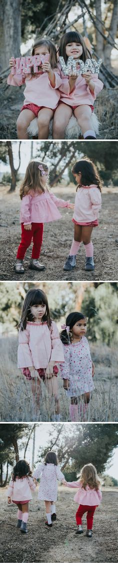 duchess and goose valentines capsule look book 2018 // handmade kids clothes // handmade valentine outfits // duchess and goose // girls clothing