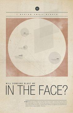 Poster Design by Sarah Mick, via Behance