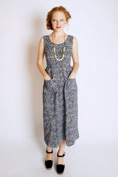 Dusen Dusen makes us miss summer big time Old fashioned dress is best for  everyday round tge house comfort 76fdc55491f