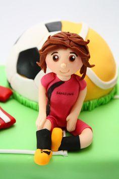Futbol & padel cake