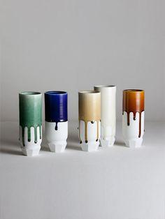 matthias kaiser ceramics facet vases