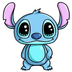 stitch funniest stitch kawaii and drawings Kawaii Girl Drawings, Cute Disney Drawings, Cute Easy Drawings, Cute Animal Drawings, Cartoon Drawings, Draw So Cute Animals, Drawing Disney, Kawaii Doodles, Cute Doodles