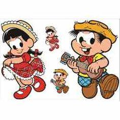 Kit Display Chico Bento Rosinha Monica 2 Pçs + Brinde Festa - R$ 90,00 em Mercado Livre