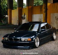 Cool Sports Cars, Cool Cars, Bmw 740, E 38, Bmw Classic Cars, Bmw 7 Series, Car Goals, Subaru Impreza, Bmw Cars