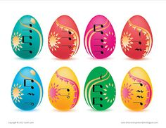 """Easter egg rhythm sorting game - could have basket shapes with the counting """"ta ta sh sh"""" etc Piano Games, Music Games, Easy Piano Sheet Music, Piano Music, Piano Lessons, Music Lessons, Sorting Games, Piano Teaching, Learning Piano"""