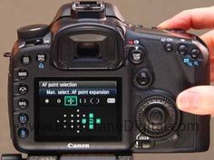 Pinpointing focus with the Canon 7D