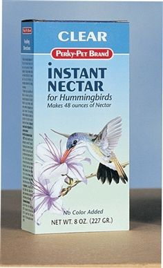 Lot of 10 Boxes NEW Oriole Bird Feeder Nectar 8 Oz Clear Mix = 64 Oz Art Line