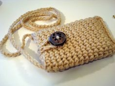 ▶ DIY Learn How to Crochet Easy Cell Phone Tablet Case Cover Holder iPhone iPod Samsung Smartphone - YouTube