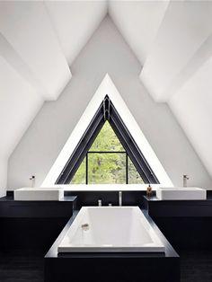 = triangle = bath and basin symmetry